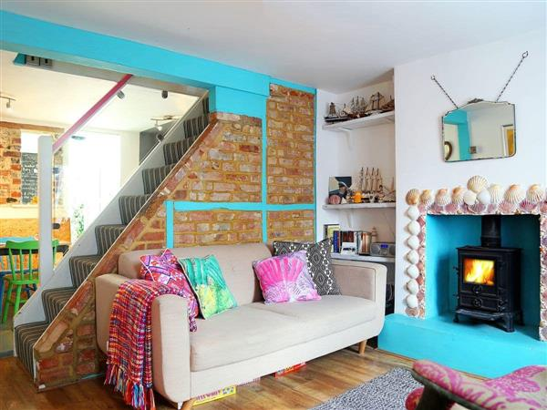 Flint Cottage, Minnis Bay in Kent