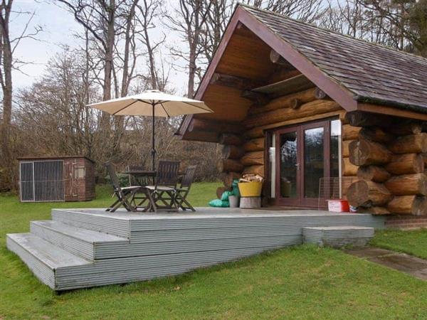 Lyne View, Log Cabin in Cumbria