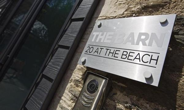 The Barn, 20 At The Beach in Devon