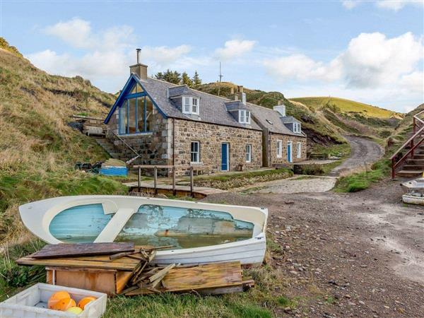 26 Crovie in Aberdeenshire