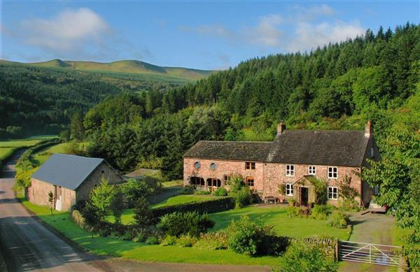 Abercynafon Farm Barn in Talybont-on-Usk, Powys