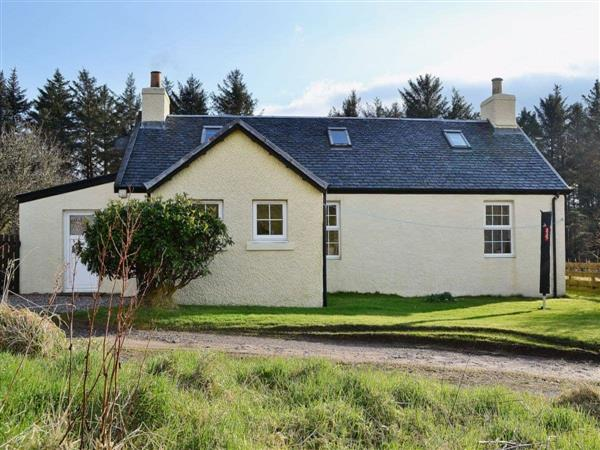 Achavallich Cottage in Argyll