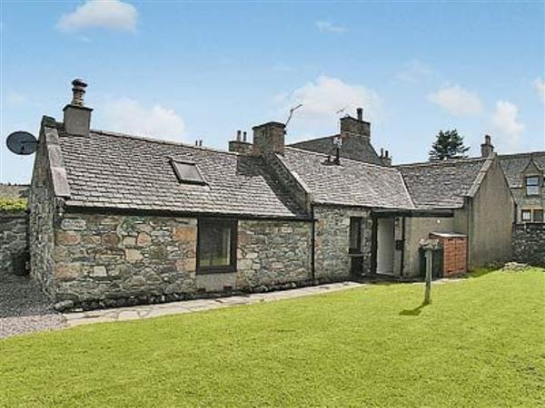 Ailnack Cottage in Banffshire