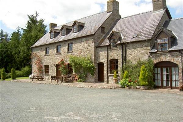 Alexanderstone Manor in Groesfford, near Brecon