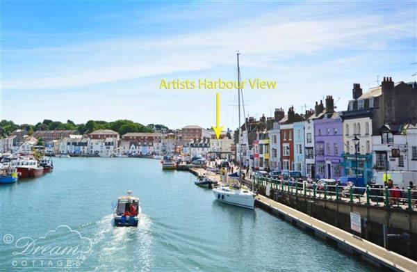 Artists Harbour View in Dorset