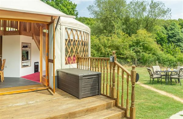 Ash Yurt in East Sussex