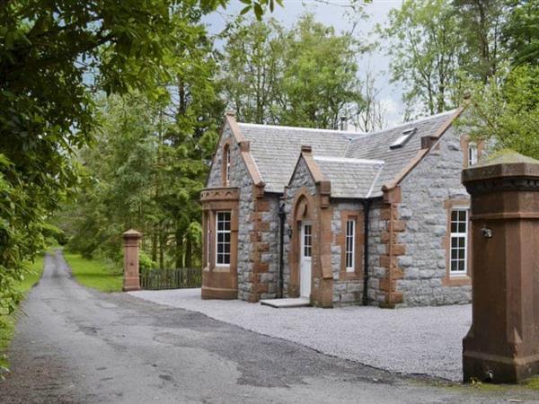 Barncailzie Lodge in Kirkcudbrightshire