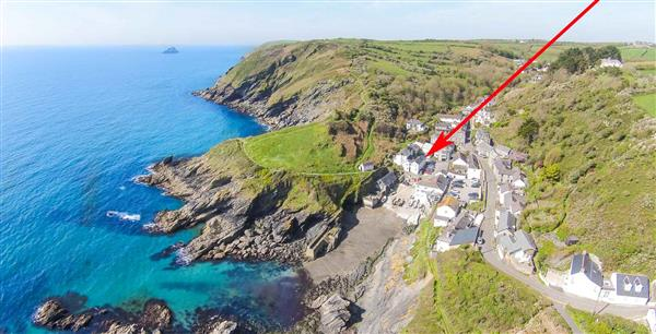 Beach Hill Cottage in Cornwall