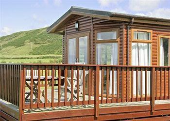 Beachfront Lodge in Argyll