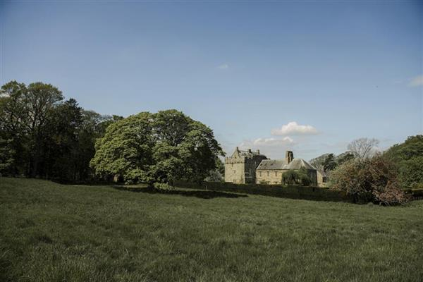Belsay Manor House in Northumberland