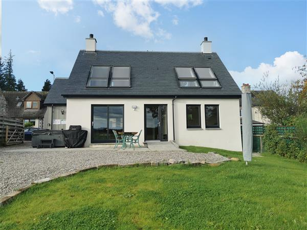 Berg Cottage in Tomintoul, Banffshire