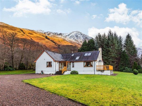 Bidean Lodge in Argyll