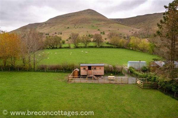 Bills Shepherds Hut in Powys
