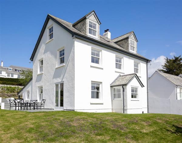 Black Rock House in Cornwall