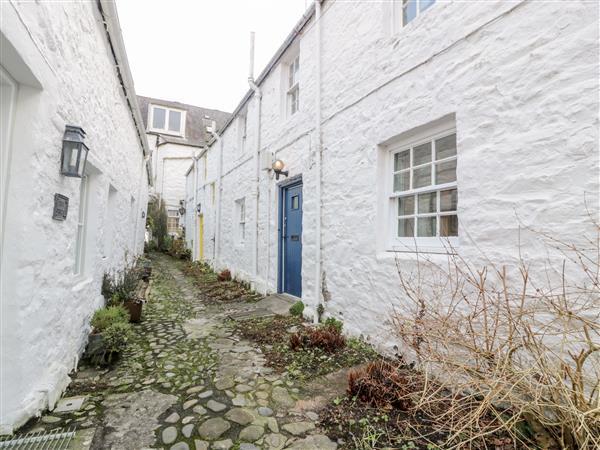 Blue Door in Kirkcudbrightshire
