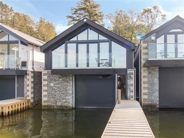 Boathouse on the Lake,