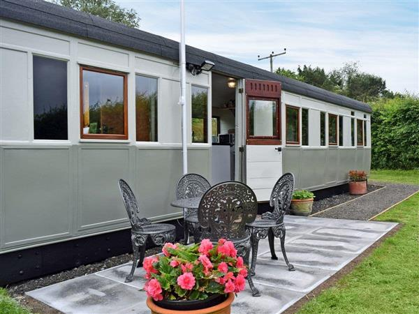 Brockford Railway Sidings - Italian Carriage in Suffolk