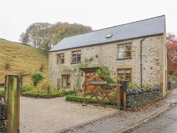 Brookside Cottage in Derbyshire