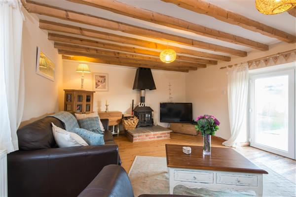 Bubble Cottage in Watergate Bay, Cornwall