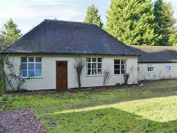 Buntingsdale Cottage in Shropshire