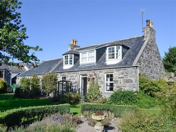 Burnside Cottage in Aberdeenshire