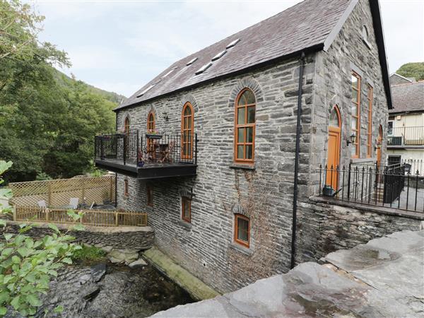 Capel Ebenezer in Ceinws near Corris, Gwynedd