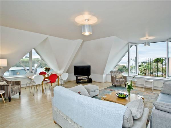 Carvells Penthouse in Cornwall