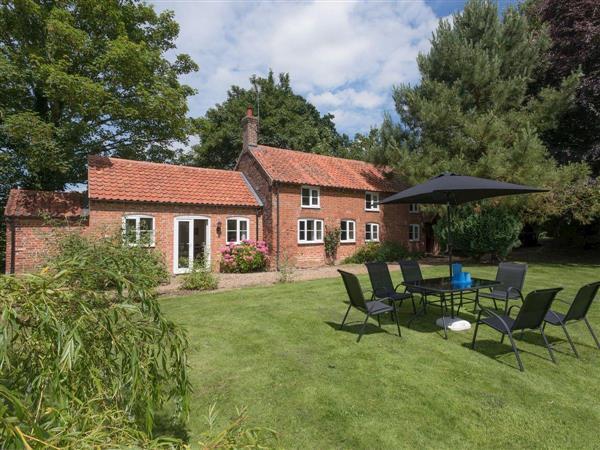 Church Cottage in Norfolk