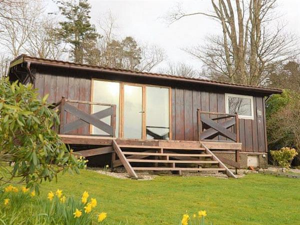 Clamshell Lodge in Argyll