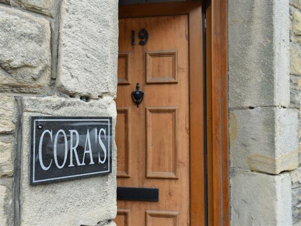 Coras House in Amble, Northumberland