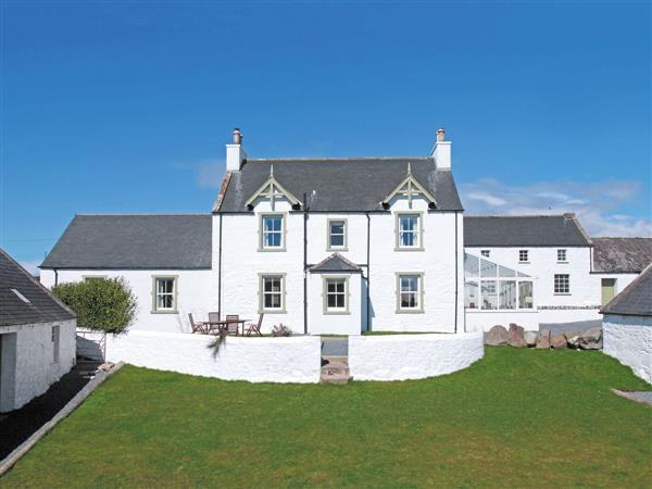 Corsewall Estate Holiday Cottages - High Clachan Farmhouse in Wigtownshire