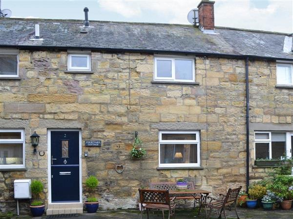 Courtyard Cottage in Northumberland