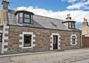 Cowrie Cottage in Banffshire