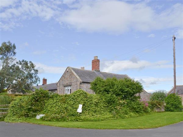Cowslip Cottage in Northumberland