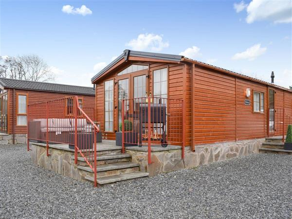 Craig Rossie Lodge in Perthshire