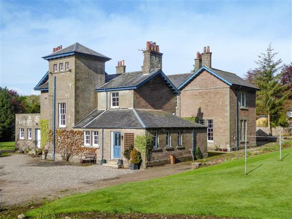 Craigellie Cottage in Perthshire