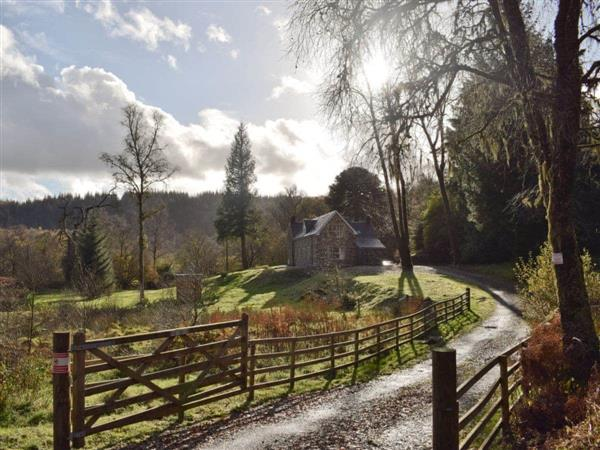 Craigmuick Cottage in Aberfoyle, Stirlingshire