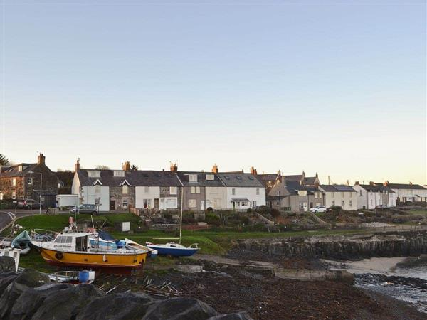 Craster View in Northumberland