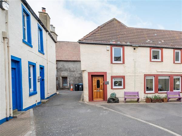 Creel Cottage in Berwickshire