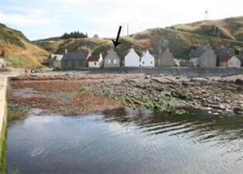 Crovie Cottage in Aberdeenshire