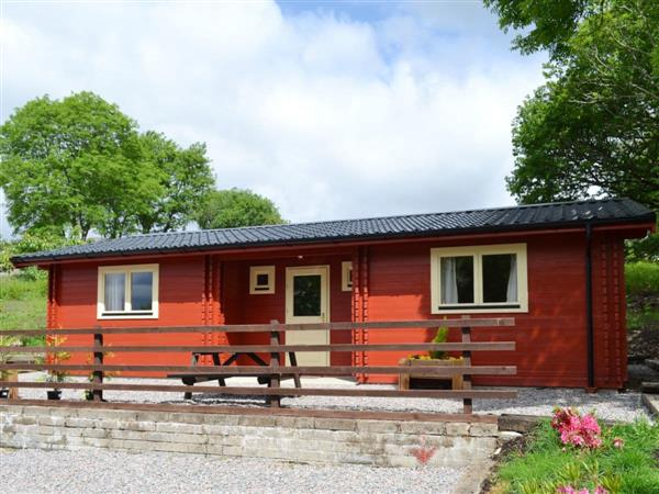 Cruachan Log Cabin in Banavie, near Fort William, Inverness-Shire