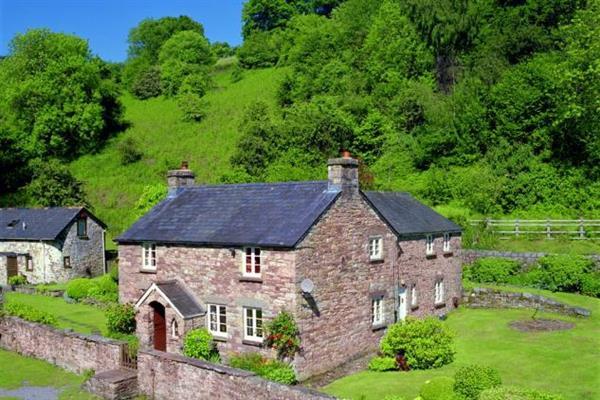 Cwm Bach Farm in Powys