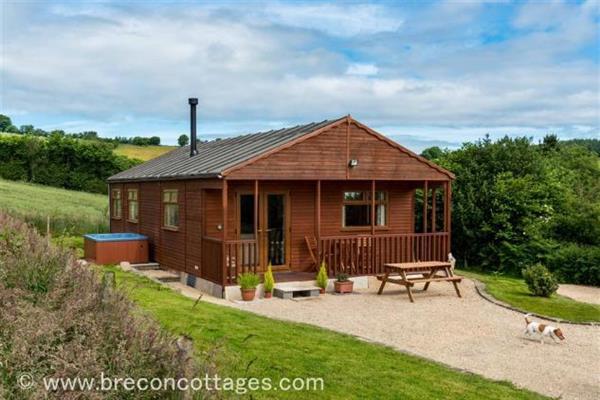 Cwmgwannon Cabin in Powys