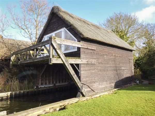 Cygnus Boathouse in Norfolk