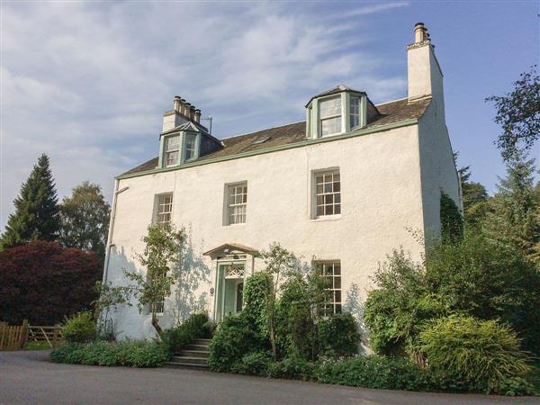 Dalshian House in Pitlochry, Perthshire