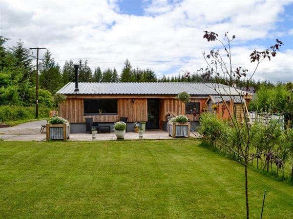Dark Sky Lodge in Powys