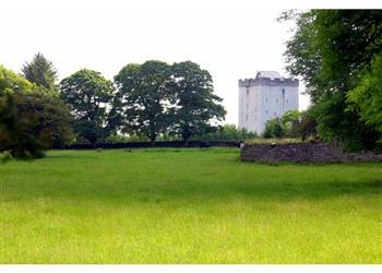Deburgo Castle in Mayo