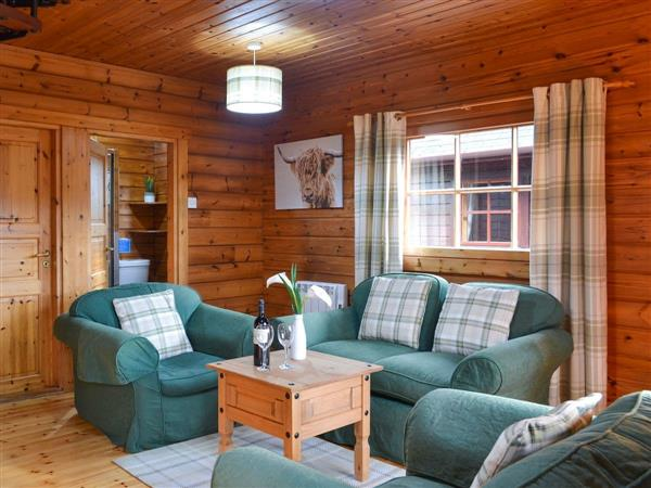 Dontra Log Chalet in Inverness-Shire