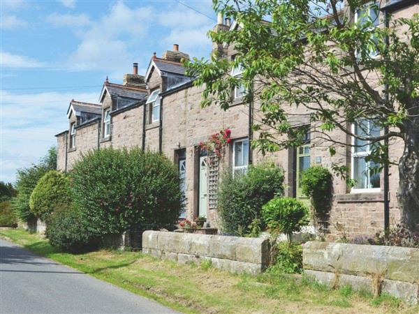 Dotty Cottage in Northumberland