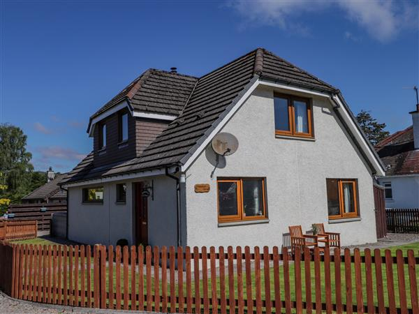 Drummond Cottage in Morayshire